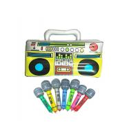 """Wholesale Colorful 16"""" Inflatable Kids Toys Microphones Speaker & Musical Instruments from china suppliers"""