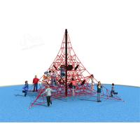 Wholesale Courage Game Outdoor Climbing Equipment , Kids Outdoor Play Equipment Non Toxic Material from china suppliers