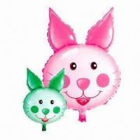 Wholesale Carrot Rabbit Balloon for Promotions or Advertisement Use, Measures 68 x 47cm from china suppliers