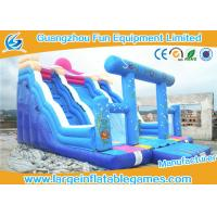 China Character Commercial Inflatable Slide With Inflatable Arch For Party And Events on sale