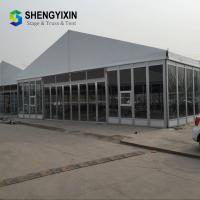 China Hot Sale Hight Quality 20x40 Aluminium Frame Clear PVC Cover Sheet Party Tent, 10x50m Tent on sale