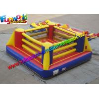 China Customized Durable Inflatable Sports Games Boxing Arena With Gloves on sale