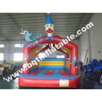 Quality Inflatable clown bouncer,inflatable bouncy castle,happy funland jumper for sale
