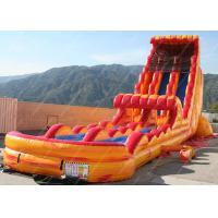 China Amusement Park Inflatable Water Slide , Adult Inflatable Water Park on sale