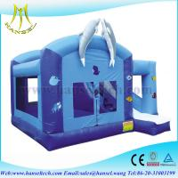 Wholesale Hansel large giant commercial rental use inflatable obstacle course bouncer from china suppliers