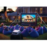 Wholesale Advertising Inflatable Outdoor Movie Screen CE / UL Blower With Repair Kits from china suppliers