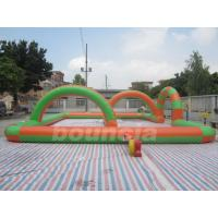 Wholesale 0.55mm PVC Tarpaulin Inflatable Zorb Ball Track For Snow Field Games from china suppliers