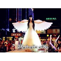 Wholesale Pure White Inflatable Angel Wings for Stage, Concert and Festival Decoration from china suppliers