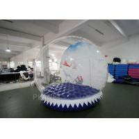 Buy cheap Shopping Mall Life Size Snow Globe 0.8mm Clear PVC Material For Live Show from wholesalers