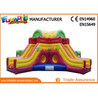 Wholesale Mega Obstacle Course Inflatable Amusement Park Playground / Inflatable Fun City from china suppliers