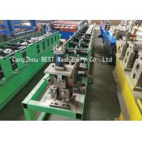 Buy cheap Light Steel Keel Ceiling Angle Roll Forming Machine PLC Control 380V50HZ from wholesalers