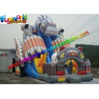 Wholesale Crazy Commercial Inflatable Slide , Robert Inflatable Super Slide EN14960 from china suppliers