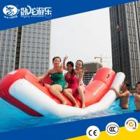 China pvc inflatable water toys, totter for water park for kids on sale