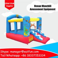 Wholesale inflatable bouncers, inflatable trampoline, amusement equipment in playground from china suppliers