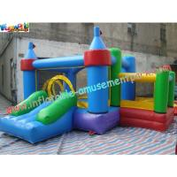 Wholesale Cool Indoor Commercial Grade MINI PVC Inflatable Bouncer House with Pool for Kids, Child from china suppliers