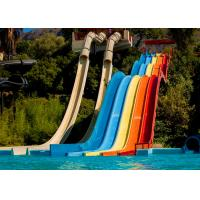 China Aquatic Paradise Outdoor Big Water Slides 9 - 35 M Platform Height For Amusement Park on sale