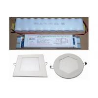 2700-6500K 1200-1300Lm Emergency LED Panel Light , led circular panel lights