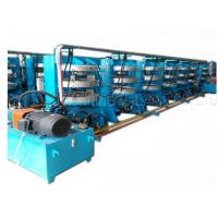 China Motorcycle Inner Tire Vulcanizing Machine , Tube Curing Press Low Noise on sale