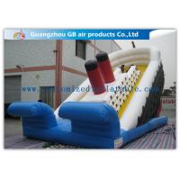 China Popular Titanic Commercial Inflatable Water Slides Double Sided Outdoor on sale