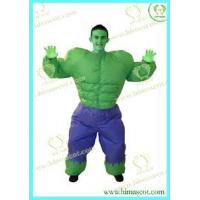 Wholesale Incredible Hulk Muscle Man Inflatable Costume from china suppliers