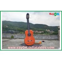 Wholesale Oxford Cloth Inflatable Guitar , Music Festival Height 2 Meters from china suppliers