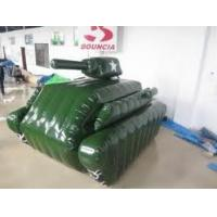 Wholesale 0.6mm / 0.9mm PVC Tarpaulin Fabric Inflatable Paintball Bunker BUN27 from china suppliers