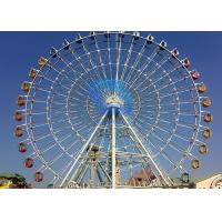 Wholesale Safety Theme Park Ferris Wheel , Christmas 120m Big Ferris Wheel Ride from china suppliers