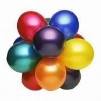 Buy cheap Latex Balloons, 5 Inches for Party Decoration, Metallic/Pearl Color, Customized from wholesalers
