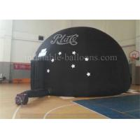 Wholesale Black Dome Inflatable Event Tent Rental Large 18oz PVC High Strength EN71 from china suppliers