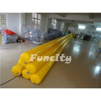 Wholesale Yellow Inflatable Water Toys Inflatable Water Tube / Water Buoys / Water Enclosure from china suppliers