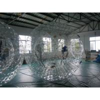 Wholesale High Durability Customers design 0.9mm PVC Inflatable Zorb Ball With Two Soft Cushions from china suppliers