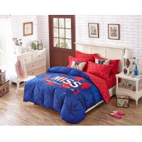 Wholesale 250T Dorm Bedding Sets And 100% Cotton Fabric With Printed Design from china suppliers