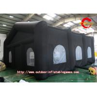 Wholesale Outside Activities Black Oxford Cloth Inflatable Tent For Camping from china suppliers