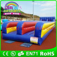 Wholesale Outdoor party fun sport inflatable bungee run for sale hot inflatable bungee jump from china suppliers