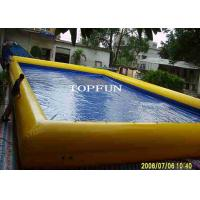 China CE PVC Tarpaulin Large Inflatable Swimming Pool Outdoor Amusement Park on sale