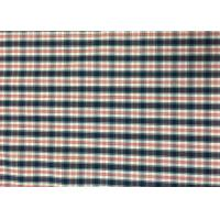 Wholesale Plaid Awning / Bedding / Curtain Custom Printed Fabrics 110-130gsm from china suppliers