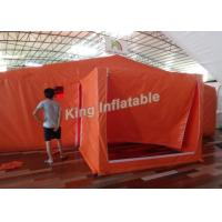 Wholesale Orange Custom PVC 8*6 M Giant  Inflatable Tents For Event Or Warehouse from china suppliers