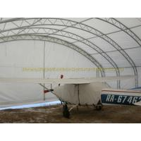 Pre engineered prefabricated steel structure airplane hangar construction