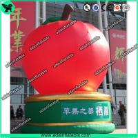 Wholesale The Giant Event Advertising Inflatable Apple Fruits Replica Model from china suppliers