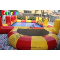 Wholesale Inflatable pool with pillar,water pool,water pool with trampoline KPL011 from china suppliers