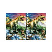 Buy cheap Amazing Dinosaur 3D Lenticular Spiral Notebook Cover Eco - Friendly from wholesalers