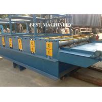 Wholesale SGS Roof Tile Roll Forming Machine Color Steel Glazed , double layer roll forming machine from china suppliers