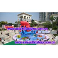 Wholesale Large  Lobster Pool Inflatable Water Parks For Commercial Use from china suppliers