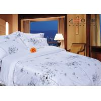 Quality White Cotton Bed Linen Super King Size 100% Egyptian And 300GSM With 350TC for sale