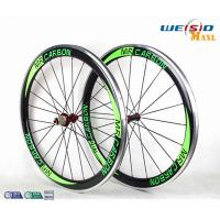 Wholesale 50mm Clincher Bicycle Aluminum Road Bike Wheels With Mrcarbon Logo from china suppliers