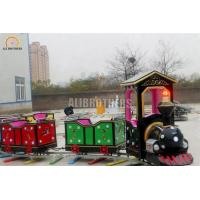 Wholesale Indoor Or Outdoor Amusement Train Rides , Electric Train Rides 220 V 50 Hz from china suppliers