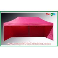 Wholesale L6m x W3m Gazebo Folding Tent Canopy Sun-resistant With 3 Sidewalls Iron Frames from china suppliers