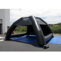 Wholesale Black Advertising Inflatable Tent Logo Printing Inflatable Dome Tent For Event from china suppliers