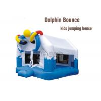Wholesale amusement park equipment fun dolphin bounce kids inflatable jumping castle from china suppliers