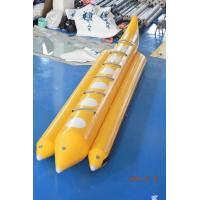 Wholesale Yellow Color Lake Inflatable Banana Boat Fly Fish With EN15649 For Children from china suppliers